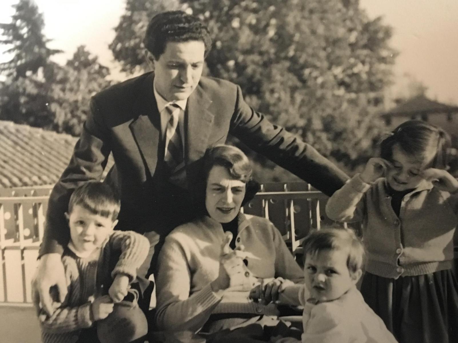 G.Folena e famiglia